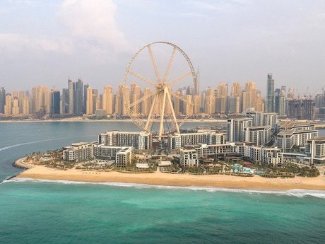 New entertainment center opens on the resort island of Dubai
