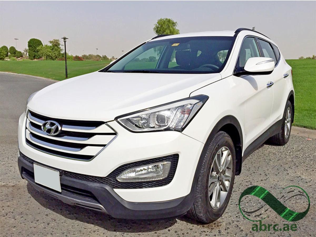 Rent Hyundai Santa Fe In Dubai Best Prices In Uae